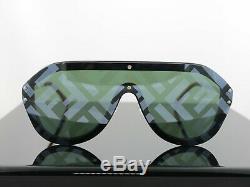 Nouveau Fendi Ff M0039 807xr Lunettes De Soleil Fabuleux Noir Argent Unisexe 100% Uv
