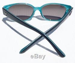 Nouveau Maui Jim Anini Beach Noir Blu Polarisé Gris Lunettes De Soleil Femmes Gs269-03a