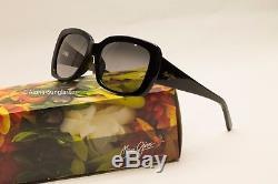Nouveau Maui Jim Black W Gris Lunettes De Soleil Polarized Plus Pour Femme $ 299