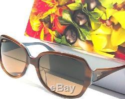 Nouveau Maui Jim Kalena Lunettes De Soleil Pour Femmes Hs299-03t En Bronze Polarisées Bronze
