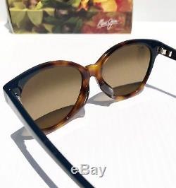 Nouveau Maui Jim Sunshine Tortoise Blue Polarized Bronze Sunglass Pour Femmes Hs725-65