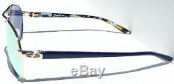 Nouveau Oakley Bris D'égalité En Or Rose Aviator Polarized Sunglass Galaxy Femmes 4108
