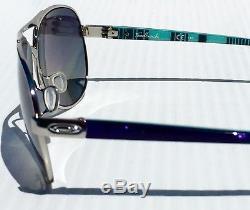 Nouveau Oakley Feedback Aviator Chrome W Lunettes De Soleil Pour Femmes Grises Polarizo Oo4079-07