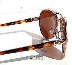 Nouveau Oakley Feedback Lunettes De Soleil Pour Femmes Aviator Or Rose Tortue Oo4079-01