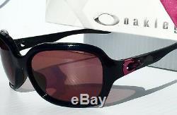 Nouveau Oakley Pulse Polarized W Rose Lens In Noir Lunettes De Soleil Pour Femmes Oo9196-06