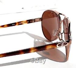 Nouveau Oakley Tie Breaker Or Rose Aviator W Polarisé Femmes Lunettes De Soleil 4108-04