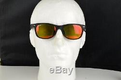 Nouveau Ray Ban Rb2132f 622/69 Nouveau Cadre Wayfarer Noir Mat Flash Orange 55mm