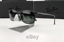 Nouveau Ray-ban Ray Wayfarer Noir Lunettes De Soleil Vertes Classiques Rb 4225 601s71
