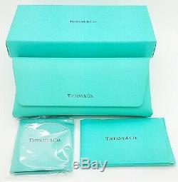 Nouveau Tiffany & Co. Lunettes De Soleil Tf4122 80559s 56mm Noir Bleu Dégradé Authentique