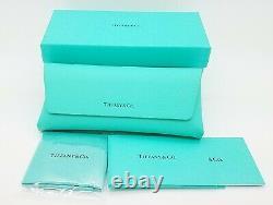 Nouvelles Lunettes Tiffany & Co. Frame Rx Tf2147b 8055 54mm Black Tiffany Blue Genuine