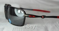 Oakley Badman Ferrari Oo 6020-07 Noir Carbone Noir Iridium Polarisé Neu