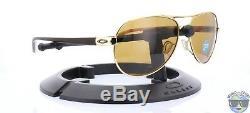 Oakley Feedback Lunettes De Soleil Pour Femmes Oo4079-08 Or Poli Avec Bronze Polarisé