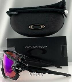 Oakley Lunettes De Soleil Jawbreaker Oo9290-25 Cadre Carbone Noir Prizm Trail Objectif Nouveau