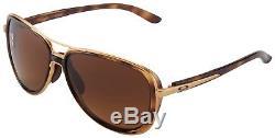 Oakley Split Time Lunettes De Soleil Pour Femmes Oo4129-0658 Brown Gradient Polarized Nib