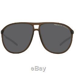 Porsche Design Herren Sonnenbrille Braun