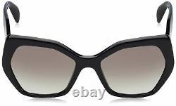 Prada Femmes Noir/grey Gradient, Lunettes De Soleil 0pr16rs 1aba07 56mm