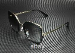 Prada Pr 57us 1ab0a7 Catwalk Black Grey Gradient 54 MM Lunettes De Soleil Pour Femmes
