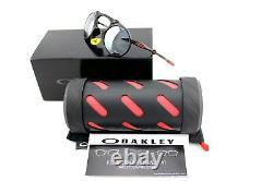 Rare New Oakley Madman Ferrari Lunettes De Soleil Polaires Iridium Noir Oo 6019-06