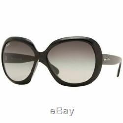 Ray Ban Lunettes De Soleil Jackie Ohh Pour Femmes Noir / Gris (rb4098-601-8g-60)