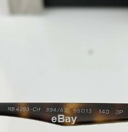 Ray-ban Aviator Rb4293ch Lunettes De Soleil 894 / A3 Matte La Havane Or Miroir Polarized