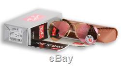 Ray-ban Lunettes De Soleil Aviateur Polarized Pink Legend Pour Femme Rb3025 001/15 58-14