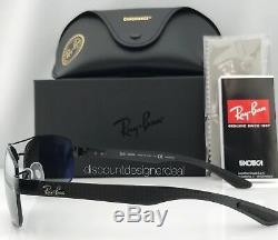 Ray-ban Lunettes De Soleil Polarized Chromance Rb8318ch 002 / 5l Noir Cadre Gris Miroir