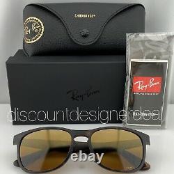 Ray-ban Rb4263 Lunettes De Soleil 894/a3 Matte Tortoise Gold Mirror Polarisé Lens 55mm