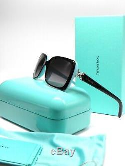 Tiffany & Co 4047b 80553c Noir Bleu Gris Lunettes De Soleil Dégradé