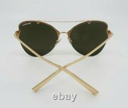 Tiffany & Co. Tf 3063 6105/e0 Nouvelles Lunettes De Soleil Rubedo Rose Gold Butterfly Mirror