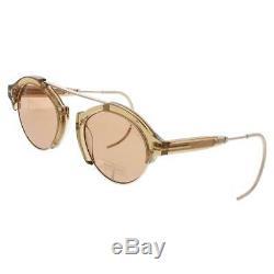 Tom Ford Farrah 02 Brown Signature Lunettes De Soleil Ovales À La Mode O / S 21, 160 Bhfo 3533