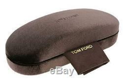 Tom Ford Lunettes De Soleil Rondes Tf631 Farrah-02 01a Noir Brillant 49mm Ft0631
