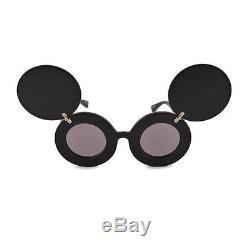 Vente! Linda Farrow X Jeremy Scott Js Lunettes De Soleil Mickey Mouse Lady Gaga Rare Cute