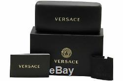 Versace Femme, Lunettes De Soleil Polarisées Verres Noir Metal Frame, 54mm