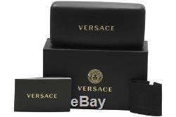 Versace Femmes Ve4353 Ve / 4353 5283/87 Lunettes De Soleil Carrées Jaunes Baroques 51mm