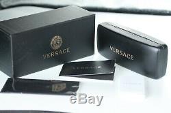 Versace Lunettes De Soleil Pour Femmes Ve2120 1002/87 Gold Frame Avec Logo Noir Objectif Medusa