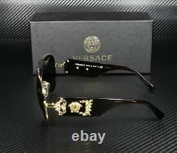 Versace Ve2150q 100271 Lunettes De Soleil Homme Gris Or 62 MM