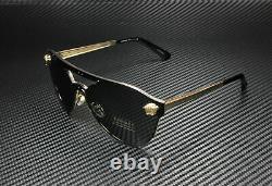 Versace Ve2161 100287 Gris Or 42 MM Lunettes De Soleil Pour Femmes