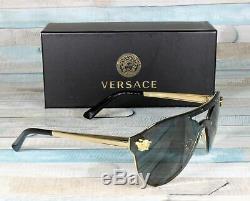 Versace Ve2161-100287 L'or Gris 42 MM Lunettes De Soleil Femme