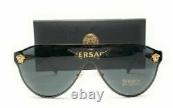 Versace Ve2161 100287 Lunettes De Soleil Femmes Gris Or 42mm