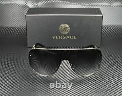 Versace Ve2166 12528g Gris Or Pâle Gradient 41 MM Lunettes De Soleil Femme