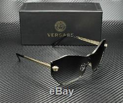 Versace Ve2182 12528g Pâle Or Gris Dégradé 43 MM Lunettes De Soleil Femme