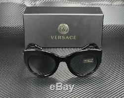 Versace Ve4353 Gb1 87 Noir Gris 51 MM Lunettes De Soleil Femme