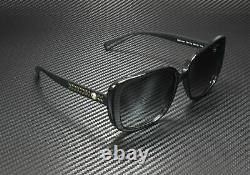 Versace Ve4357 Gb1 T3 Noir Polarized Grey Gradient 56 MM Lunettes De Soleil Pour Femmes