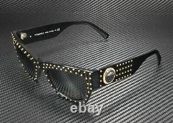 Versace Ve4358 Gb1 87 Gris Noir 52 MM Lunettes De Soleil Femme